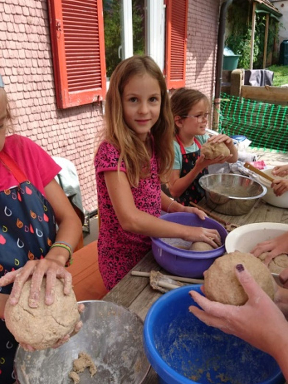 Backen im Backhaus